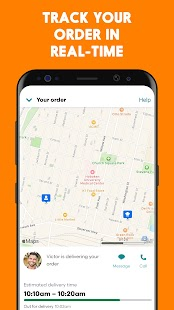Seamless: Restaurant Takeout & Food Delivery App Screenshot