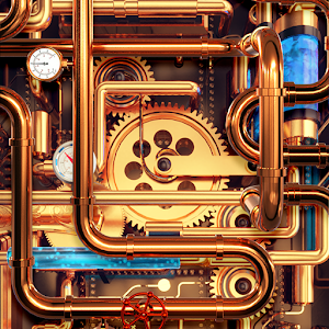 Cool Wallpapers and Keyboard - Steampunk Pipes Online PC (Windows / MAC)
