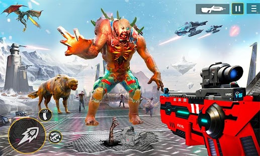US Police Robot Zombie Shooter Robot Shooting Game for pc