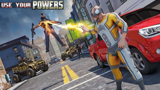 Light Speed Hero Robot Crime City
