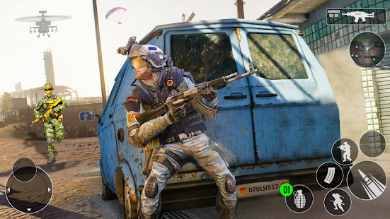 Modern Gun Strike OPS 2021 - FPS Shooting Games