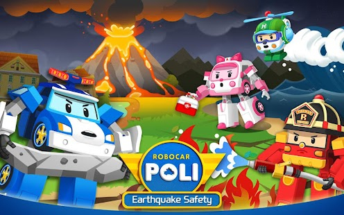 Robocar Poli Earthquake Safety - Kids Education for pc