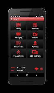 TX-FLEX – driver app for TX-SKY and TX-GO