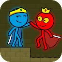 Red and Blue Stickman : Animation Parkour - WEWIN