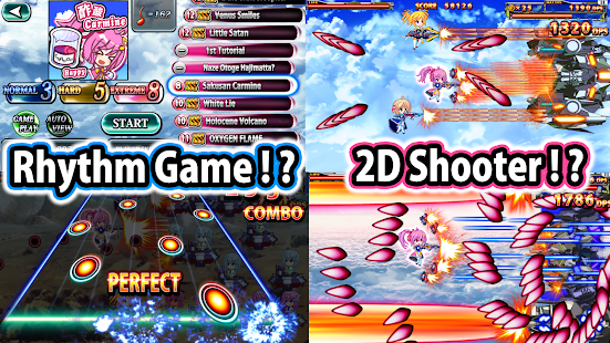 SOUND SHOOTING!! - Rhythm Action & 2D Shooter