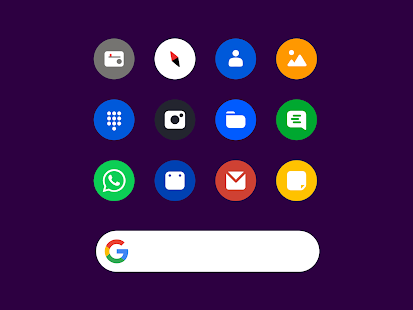 Roundy Icon pack - round pixel icons for pc