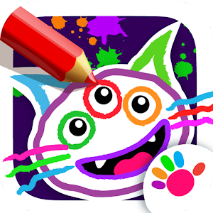 Drawing for Kids and Toddlers! Painting Apps! Online PC (Windows / MAC)
