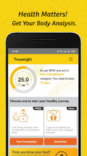 Truweight- Weight Loss, Diet plans & Immunity for pc