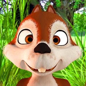 Talking James Squirrel - Virtual Pet Online PC (Windows / MAC)