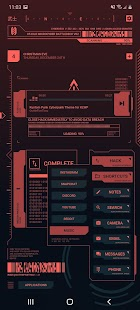 Cyberpunk Theme for KLWP