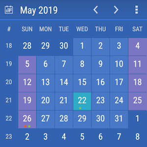 Calendar Widget KEY Online PC (Windows / MAC)