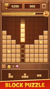 Wood Block Puzzle - Free Classic Brain Puzzle Game for pc