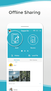 Zapya Go - Share File with Those Nearby and Remote for pc