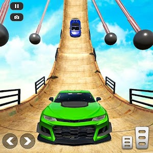 Mega Ramp Car Stunt Races - Stunt Car Games 2020 Online PC (Windows / MAC)