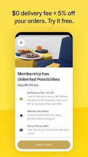 Postmates - Food, grocery & more Screenshot