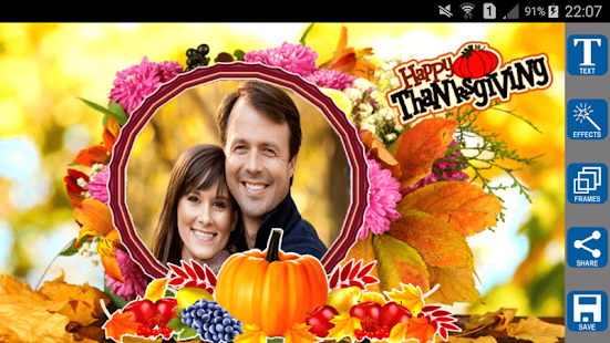 Thanksgiving Photo Frames for pc