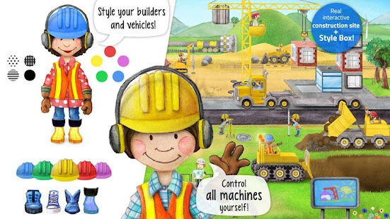 Tiny Builders: Crane, Digger, Bulldozer for Kids for pc