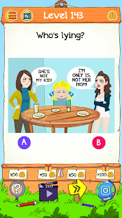 Braindom 2: Who is Who? Riddles Master Mind Game