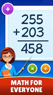 Math Games - Addition, Subtraction, Multiplication for pc