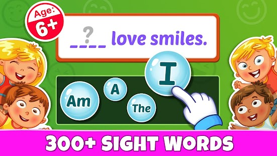 Sight Words - PreK to 3rd Grade Sight Word Games for pc