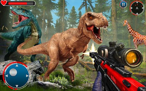 Real Dinosaur Hunter: Hunting Games