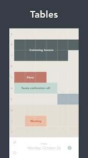 Tables - Grid Planner