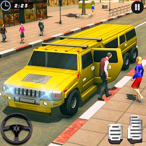 Big City Limo Car Driving Simulator : Taxi Driving Online PC (Windows / MAC)