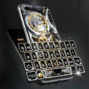 Silver Luxury Watch Wallpaper and Keyboard Online PC (Windows / MAC)
