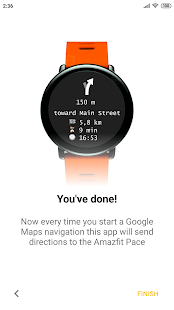 Navigator for Amazfit GTS, GTR, Pace and others for pc