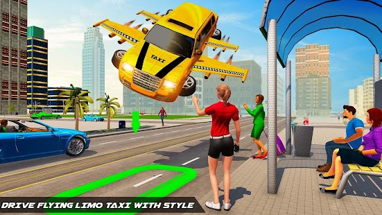Big City Limo Car Driving Simulator : Taxi Driving