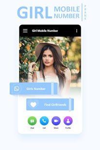 Girl Mobile Number Simulator for pc