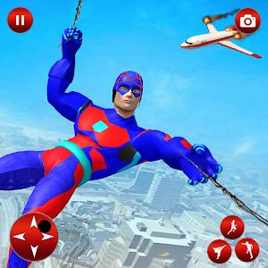 Flying Superhero Robot Speed Hero Online PC (Windows / MAC)