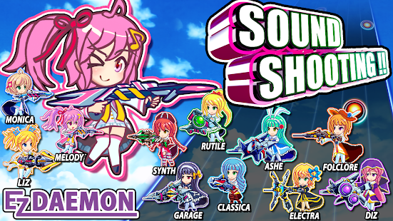 SOUND SHOOTING!! - Rhythm Action & 2D Shooter for pc