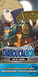 Layton: Diabolical Box in HD for pc