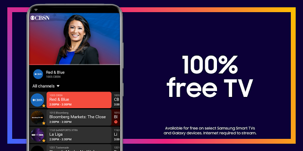 Samsung TV Plus: 100% Free TV. for pc
