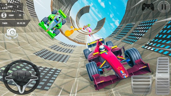 Mega Ramp Car Stunts: Stunt Car Games 2020 Free