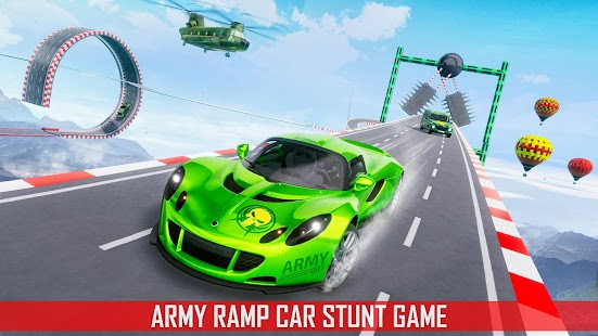 Mega Ramp Car Stunts 3D: Ramp Stunt Car Games for pc
