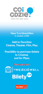 events, concerts, cinema repertoire - coigdzie.pl® for pc