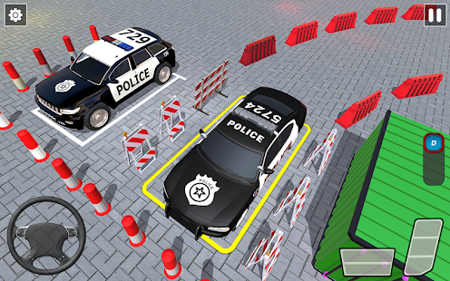 Police Car Parking Simulator 2020 : Free Car Games for pc