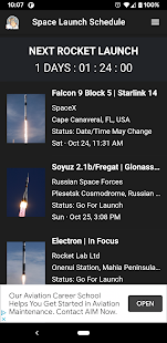 Space Launch Schedule for pc