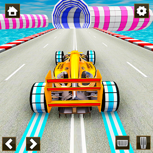 Impossible Formula Car Racing Stunt New Free Games Online PC (Windows / MAC)