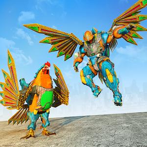 Rooster Robot Transforming Games: Robot Wars Online PC (Windows / MAC)