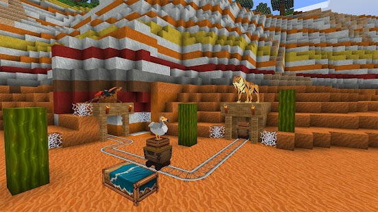 PrimalCraft: Cubes Craft & Survive Game for pc