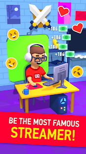 Idle Streamer tycoon - Tuber game for pc