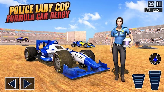 Police Formula Car Derby Demolition Crash Stunts for pc