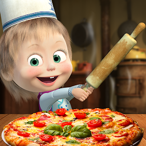 Masha and the Bear Pizzeria Game! Pizza Maker Game Online PC (Windows / MAC)