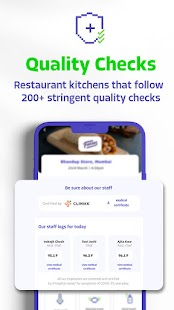 EatSure - Order Food   Food court on an app Screenshot
