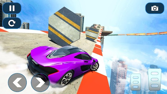 Mega Ramp Car Stunt Races - Stunt Car Games 2020