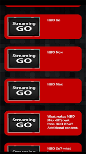 Streaming Guide for HBO GO TV
