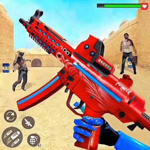 US Police Robot Zombie Shooter Robot Shooting Game Online PC (Windows / MAC)